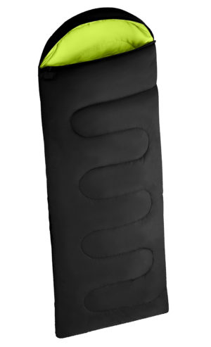 Camping SLEEPING BAG BLACK