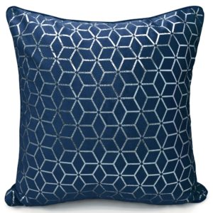 VERA CUSHION COVER NAVY