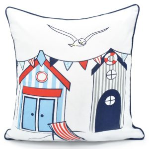NAUTICAL REVERSIBLE CUSHION COVER