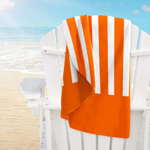 Beach MF Stripes Orange 150