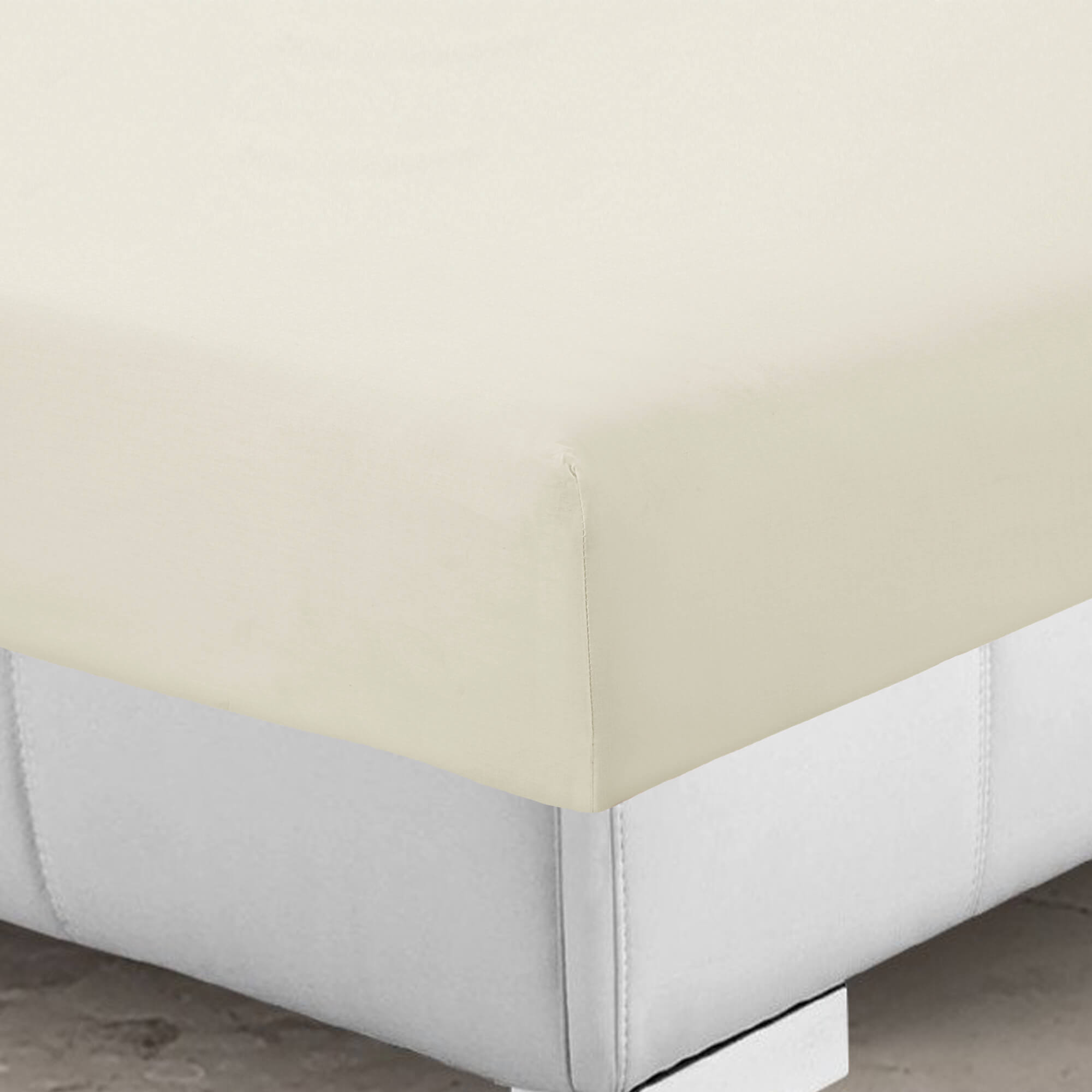 Easy Care Fitted Sheets 4FT Bed Small Double Polycotton Bed Cover Mattress Sheet