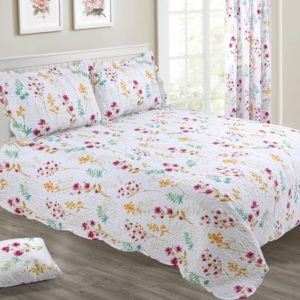 MEADOW FLORAL BEDSPREAD SET