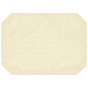 Hampton Placemat Cream 150
