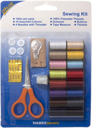 SEWING KIT 16 colours