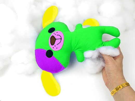TOY FILLING 100% POLYESTER