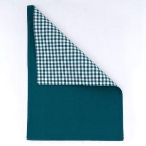 GINGHAM PLACEMAT GREEN