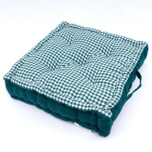 GINGHAM BOOSTER PAD GREEN