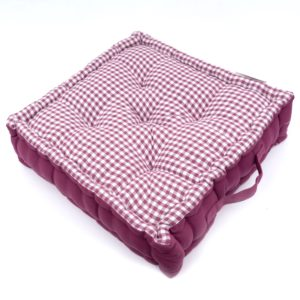 GINGHAM BOOSTER PAD PURPLE