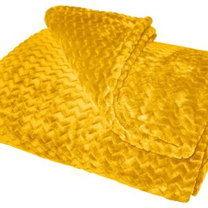 MODA THROWS OCHRE