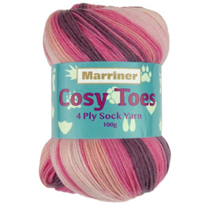 Sock Yarn Flamingo