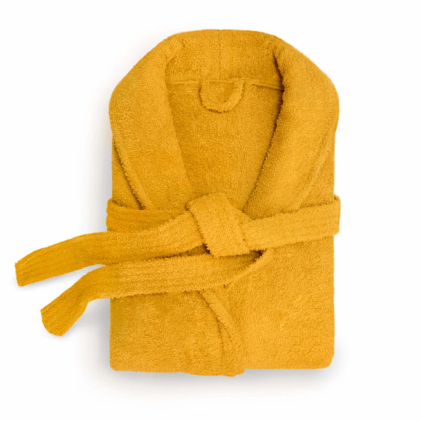 HAMPSHIRE OCHRE DRESSING GOWN