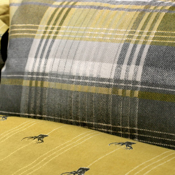 Connolly Check QC Ochre dts 150