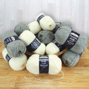 DK with wool medley 150
