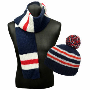 Adults & Kids Country Hat & Scarf Kit England