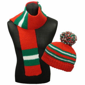 Adults & Kids Country Hat & Scarf Kit Wales