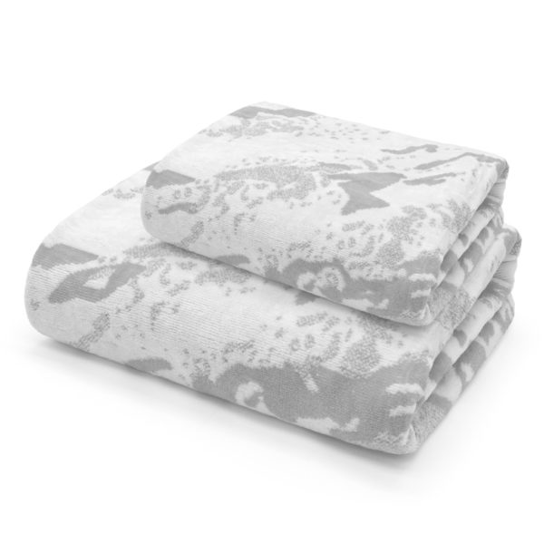 Marble Towel Silver set 150